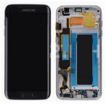 Tela Touch Lcd Display Samsung Galaxy S7 Edge G935 com aro