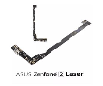 Flex Conector Carga Zenfone 2 Laser Ze601kl Ze600kl Original