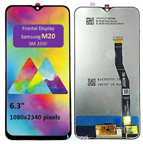 Frontal Display Touch Tela Samsung M20 M205