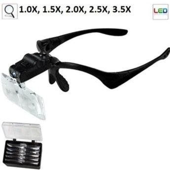 Óculos Profissional B-MAX 5 Lentes De Aumento