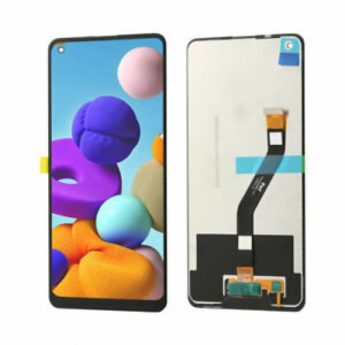 Tela Frontal Display Lcd Touch Samsung Galaxy A21 A215