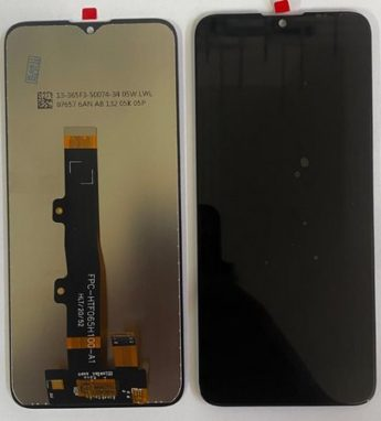 Frontal Tela Touch Display Motorola Moto E7 XT2095 / Moto E7 Power XT2097