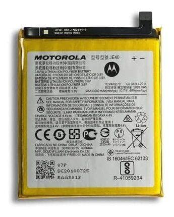 Bateria Motorola Moto One XT1941 JE40