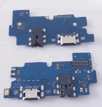Flex Conector De Carga Samsung A20 A205