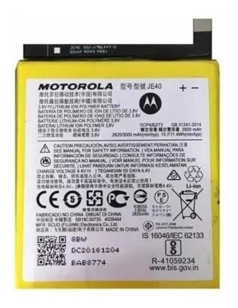 Bateria Motorola Moto G7 Play XT1952 JE40